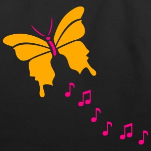 Butterfly Music - Eco-Friendly Cotton Tote
