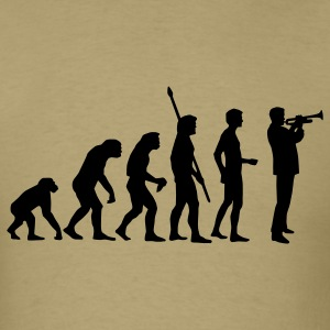 Khaki evolution_trompeter_us T-Shirts - Men's T-Shirt