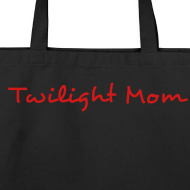 Design ~ Twilight Mom Canvas Book Bag