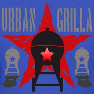 Urban Grilla BBQ, barbecue chef / cook 1 - Women's T-Shirt