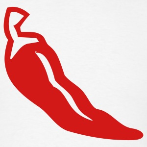Chili Pepper 1c - Men's T-Shirt