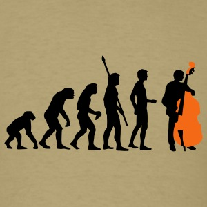 Khaki evolution_bass_2c T-Shirts - Men's T-Shirt
