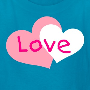 Hot pink heart Kids' Shirts - Kids' T-Shirt