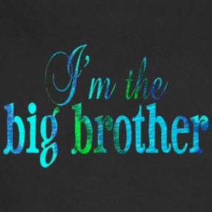 Black I'm the BIG BROTHER Long Sleeve Shirts - Men's Long Sleeve T-Shirt