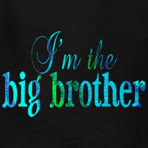 Black I'm the BIG BROTHER Kids' Shirts - Kids' T-Shirt
