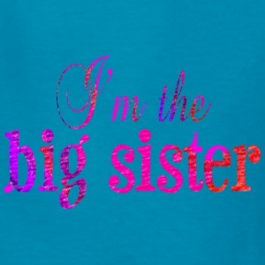 Classic pink I'm the BIG SISTER Kids' Shirts - Kids' T-Shirt