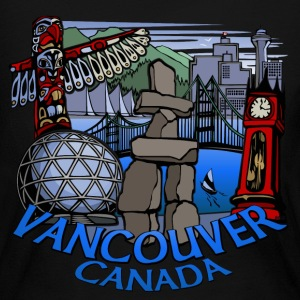 Vancouver T-shirt Women's Vancouver Canada Shirt - Women's Long Sleeve Jersey T-Shirt