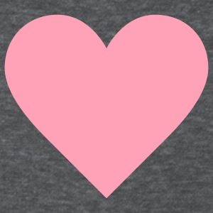 Deep heather I LOVE YOU I HEART YOU VALANTINE VALENTINE T-Shirt Women's T-Shirts - Women's T-Shirt