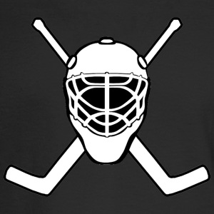 Jolly Roger Hockey Goalie - Men's Long Sleeve T-Shirt