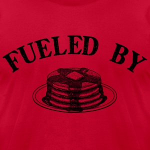 Lemon Fueled by Pancakes T-Shirts - Men's T-Shirt by American Apparel