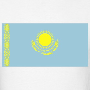 White kazakstan T-Shirts - Men's T-Shirt