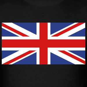 Black uk flag T-Shirts - Men's T-Shirt