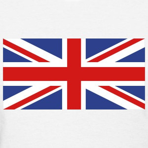 White uk flag Women's T-Shirts - Women's T-Shirt