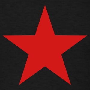 Black star T-Shirts - Men's T-Shirt