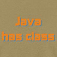 Design ~ Java has class