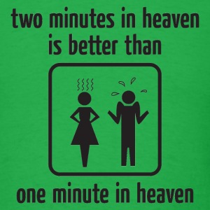 Two Minutes in Heaven Black T-Shirts - Men's T-Shirt
