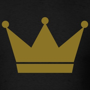 Black crown T-Shirts - Men's T-Shirt
