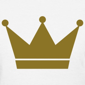 White crown Women's T-Shirts - Women's T-Shirt