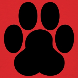 Red paw T-Shirts - Men's T-Shirt