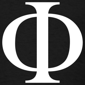 Black phi T-Shirts - Men's T-Shirt