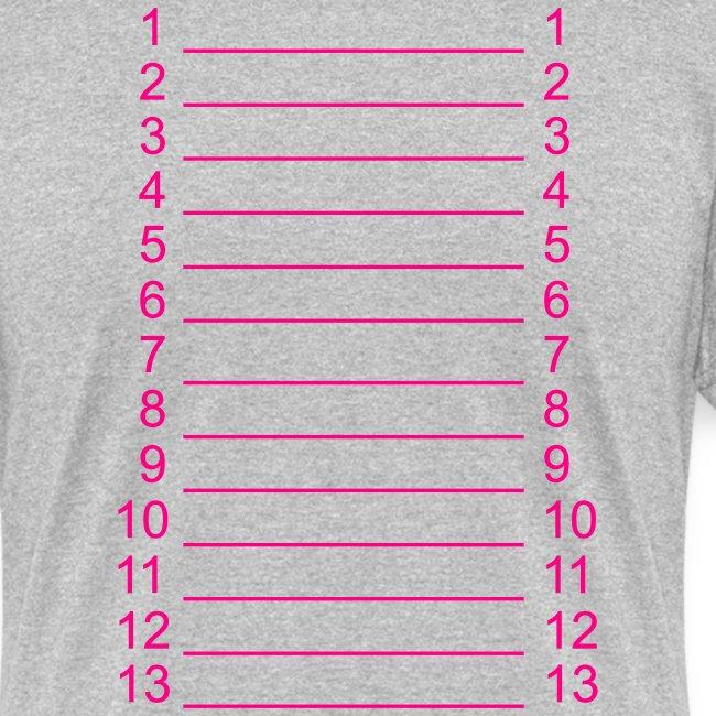 Plain Length Shirt SL+
