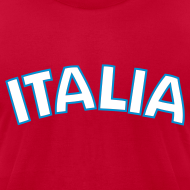 Design ~ ITALIA logo AA T, Red