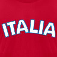 Design ~ ITALIA logo AA T, Red