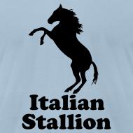 Design ~ Italian Stallion AA T, Light Blue