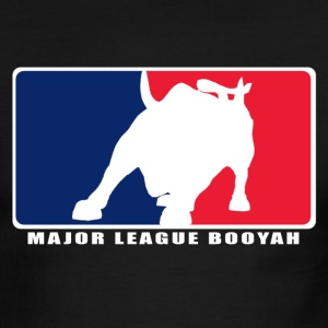 Major League Booyah Men's Lightweight AA Ringer Tee - Men's Ringer T-Shirt
