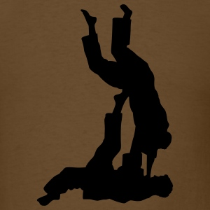 Brown judo T-Shirts - Men's T-Shirt
