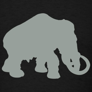 Black mammoth T-Shirts - Men's T-Shirt