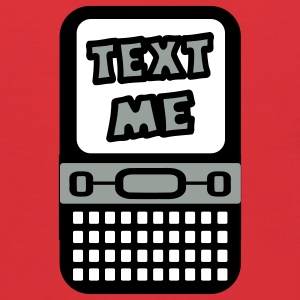 Red Text Me With Cell Phone Sweatshirts - Kids' Hoodie