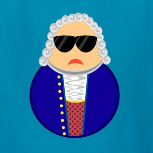 Bach Classical Composer Cartoon T-shirt - Kids' T-Shirt