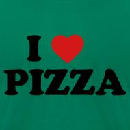 Design ~ I Heart Pizza AA T, Green