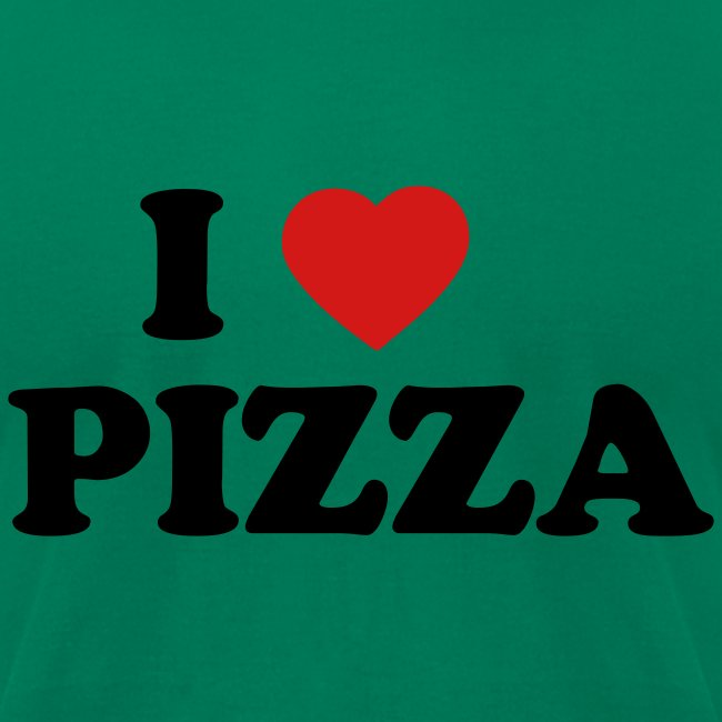 I Heart Pizza AA T, Green