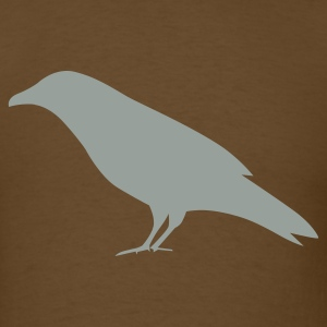 Brown bird crow T-Shirts - Men's T-Shirt