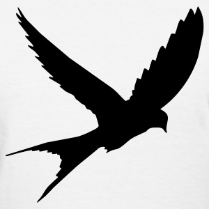 White bird Women's T-Shirts - Women's T-Shirt