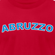 Design ~ ABRUZZO Region T, Red