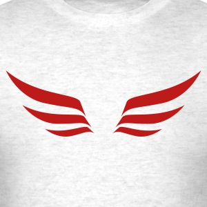 Light oxford wings1 T-Shirts - Men's T-Shirt