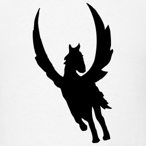 White pegasus T-Shirts - Men's T-Shirt