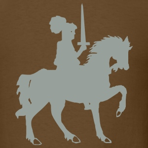 Brown knight T-Shirts - Men's T-Shirt