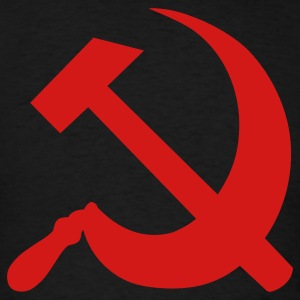 Black Hammer and Sickle T-Shirts - Men's T-Shirt