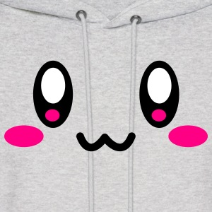 Ash  Super Cute Face Hoodies - Men's Hoodie