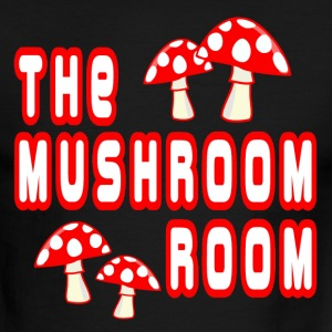 White/red The Mushroom Room T-Shirts - Men's Ringer T-Shirt