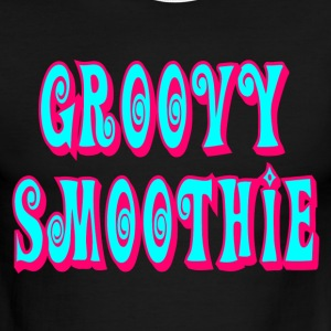 Sky/navy Groovy Smoothie T-Shirts - Men's Ringer T-Shirt