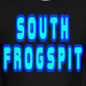 Sky/navy South Frogspit T-Shirts - Men's Ringer T-Shirt