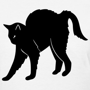 Cat Arched Back 1c - Women's T-Shirt