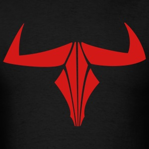 Minotaur Skull Horns 1c - Men's T-Shirt