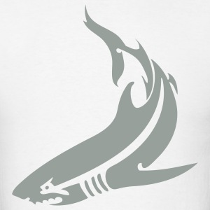 Shark Tribal 1c - Men's T-Shirt