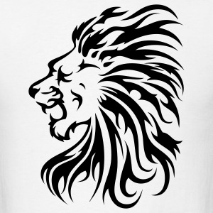 Lion Tribal 1c - Men's T-Shirt